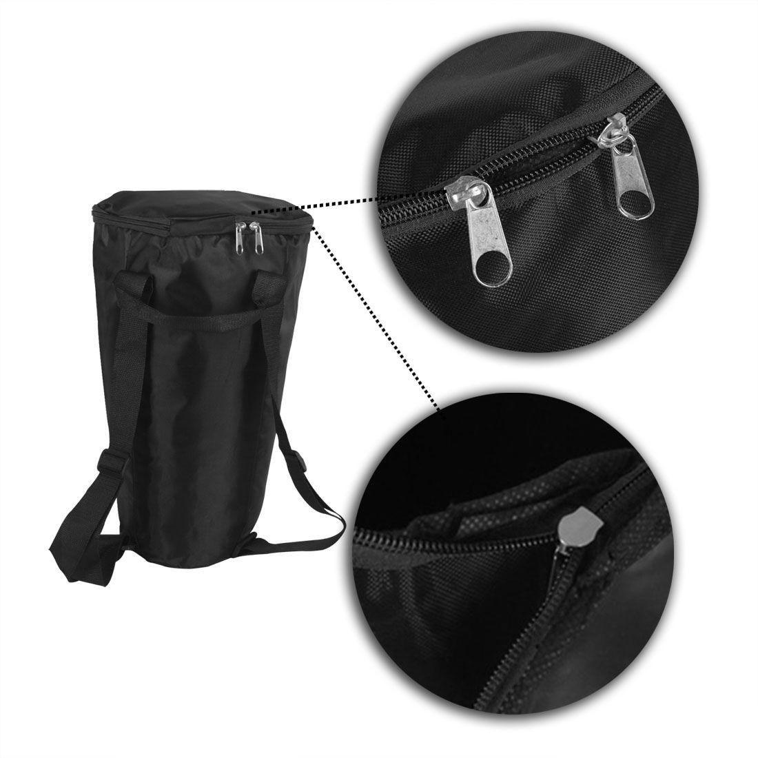 JHD tambor Djembe estuche suave bolsa con cremallera reforzada ...