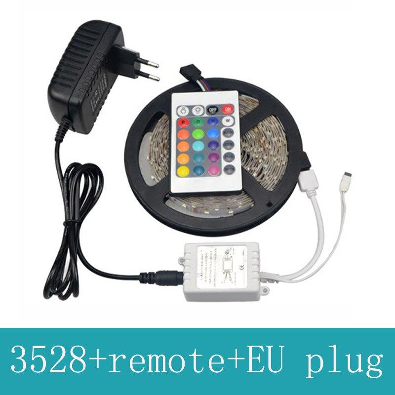 RGB vadītais sloksne 3528 SMD elastīga lentes gaisma bez ūdens - LED Apgaismojums