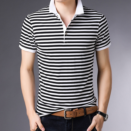 Thoshine Brand England Style Men Polo Shirts 95% V…