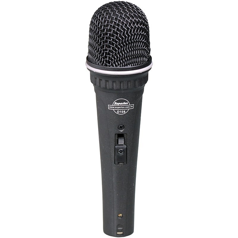 superlux d108b vocal dynamic wired microphone for band frontman recording microphone computer k. Black Bedroom Furniture Sets. Home Design Ideas