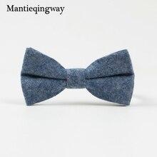 Mantieqingway Formal Children Suits Bow Tie For Baby Skinny Bowtie Cute Cotton Baby Bowties Gravatas Borboleta Collar Kids Ties