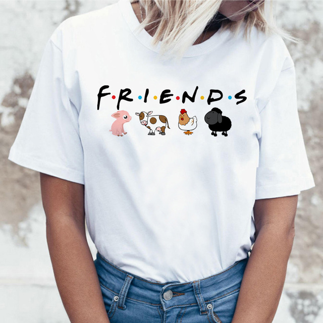 Vegan's Save the Bees Patterned Women T-Shirt