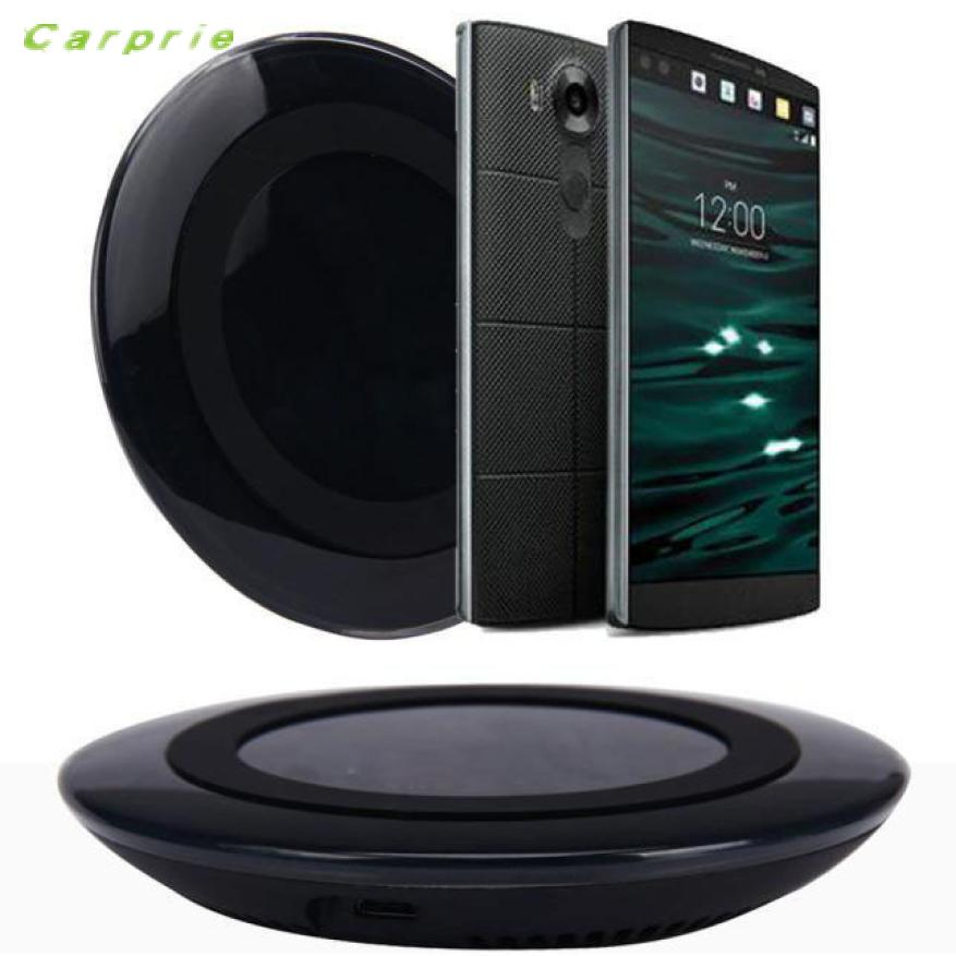 NewCARPRIE Импортируется из Китая Qi Беспроводной Зарядное устройство для зарядки площадку для <font><b>LG</b></font> <font><b>V10</b></font> G4 G3 Nexus 4 5 7 Другое Ци телефон быстрое портативн&#8230;