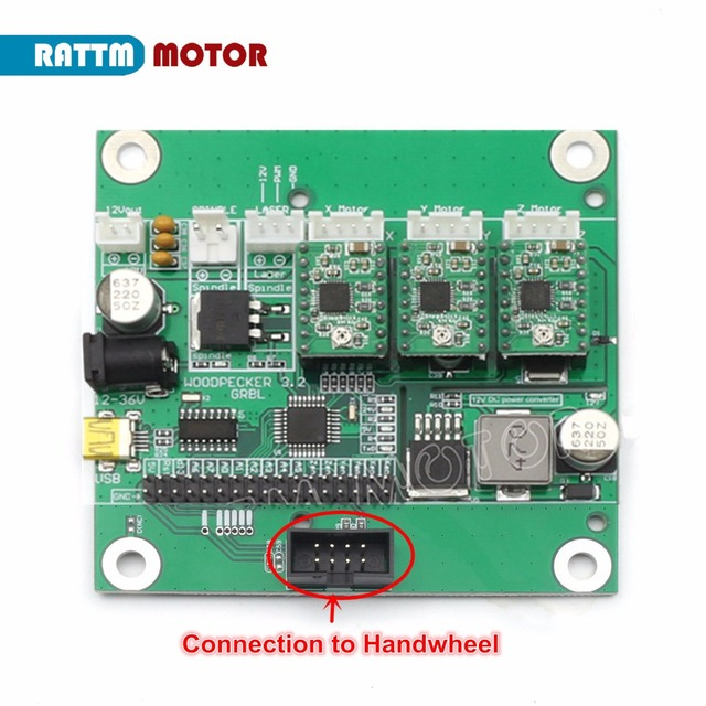 US $46 5 6% OFF|3 Axis GRBL 0 9J USB Port CNC Engraving Machine Laser  Control Board Controller-in Motor Controller from Home Improvement on