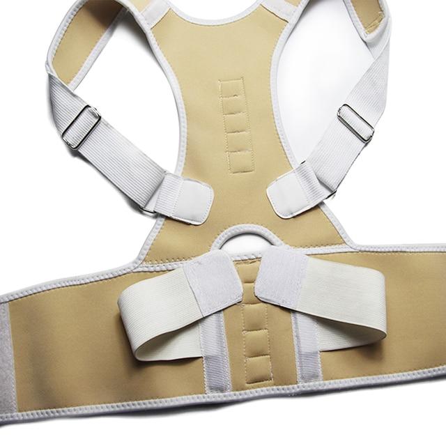 Male Female Adjustable Magnetic Posture Corrector Corset Back Brace Back Belt Lumbar Support Straight Corrector de espalda S-XXL 3