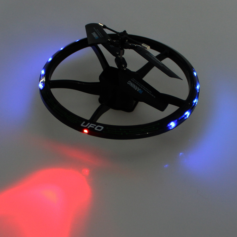 New Novel smart RC toy 777-323 2ch infrared suspension UFO disk airplane Remote Radio Control RC Drone Quadcopter with LED light  2 ch infrared remote control spider toy brown 2 x aa