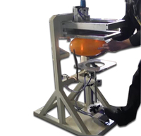 Small Automatic Latex Balloon Silk Screen Printer