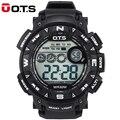 Nova OTS Esportes Relógio Para Homens Top Marca de Luxo Relógio Digital Militar Do Exército dos homens Relógio de Pulso À Prova D' Água Relogio masculino presentes