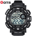 Nuevos OTS Top Luxury Brand Reloj Deportivo Para Hombre Digital Reloj Militar Del Ejército Reloj de Pulsera Impermeable de Los Hombres Relogio masculino regalos