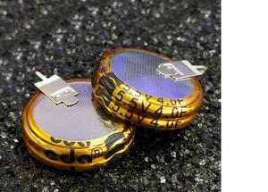 10 шт. ультра конденсатор 5.5v4f супер конденсатор 5,5 V 4F V стиль сквозного отверстия конденсатор