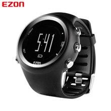 EZON T031 erkek GPS spor saatler 50M su geçirmez mesafe hız kalori sayacı GPS zamanlama çok fonksiyonlu dijital bilek saatler