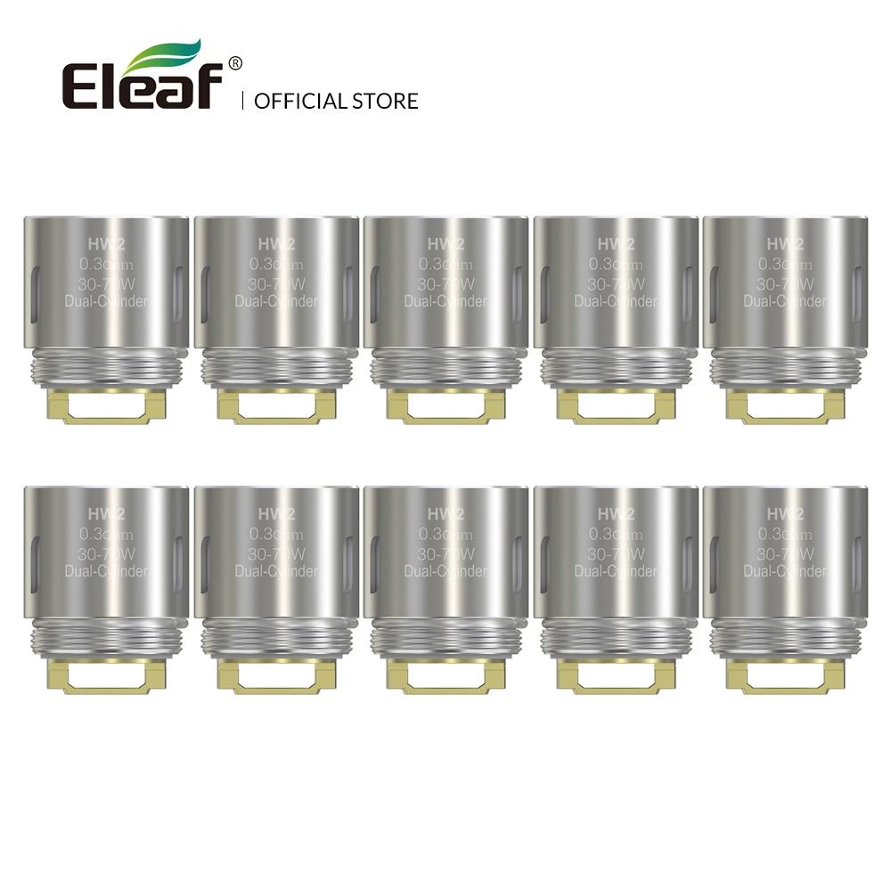 10pcs/lot Original Eleaf HW2 Dual-Cylinder 0.3ohm Head HW Coil 30-70W for Ello/Ello Mini/Ello TS tank electronic cigarette eleaf ello series coil head hw1 0 2ohm hw2 0 2ohm hw3 0 3ohm hw n 0 2ohm hw m 0 15ohm for eleaf ello series tank vape vaporizer