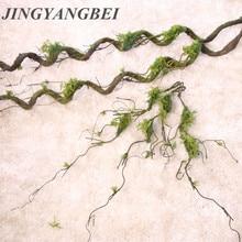 Мох лоза дерево ротанга сухоцветы ветки винограда сухое дерево ветви балкон украшение витрина украшения свадебный цветок