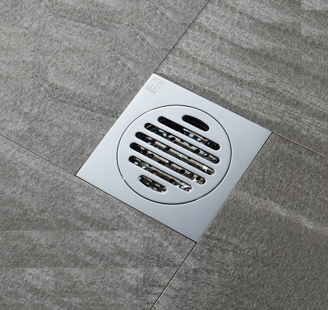 HIDEEP 150 Floor Drain Cover Waste Drainer Washing Drainer Dedicated Shower  Floor Grate Drain Brass Bathroom