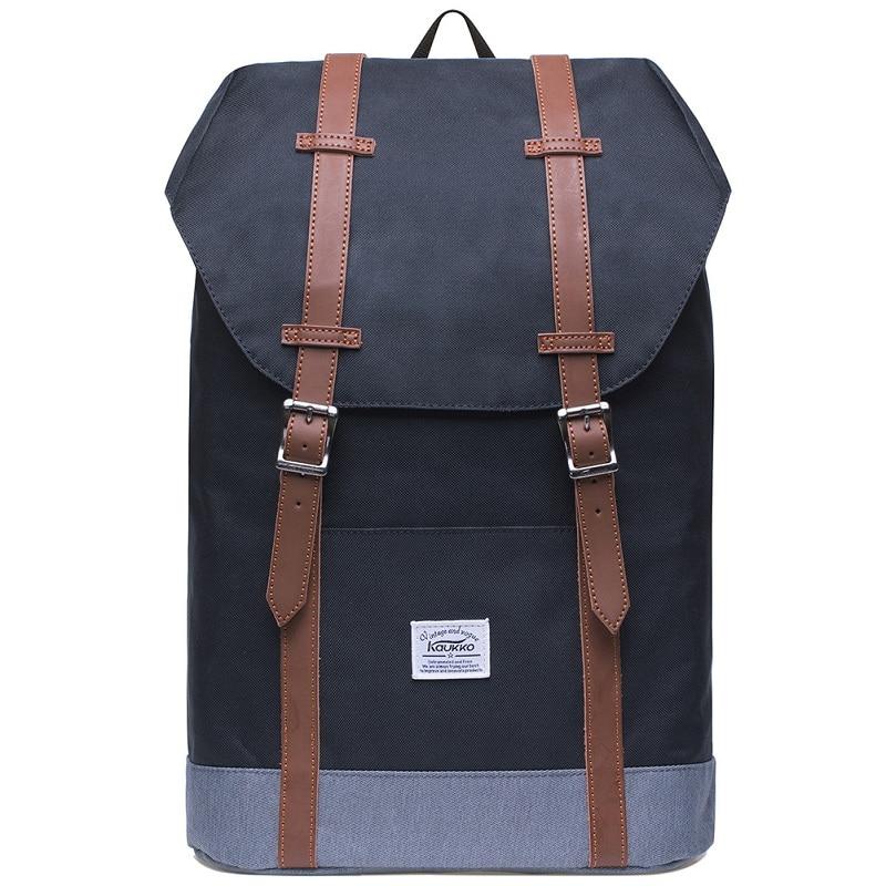 Kaukko Backpacks Women s Daypack Men s Travel School Laptop Bags Waterproof for 14 Notebook Casual