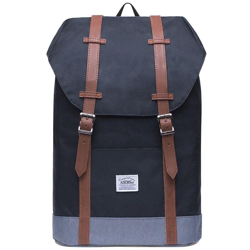 Kaukko Backpacks Women's Daypack Men's Travel School Laptop Bags Waterproof for 14  Notebook Casual Daypacks Schoolbags kaukko fp84