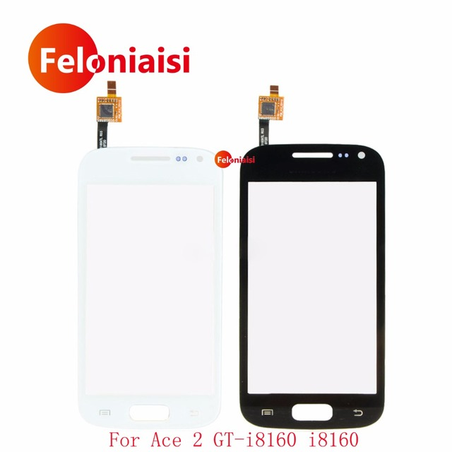 "10Pcs/lot High Quality 3.8"" For Samsung Galaxy Ace 2 GT-i8160 i8160 Touch Screen Digitizer Sensor Outer Glass Lens Panel+Track"
