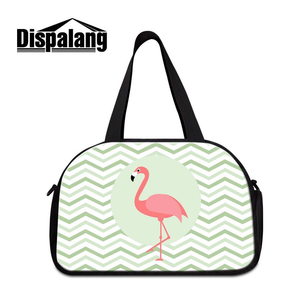 Dispalang дорожная сумка с независимыми обувь хранения Фламинго большой Ёмкость Для женщ ...