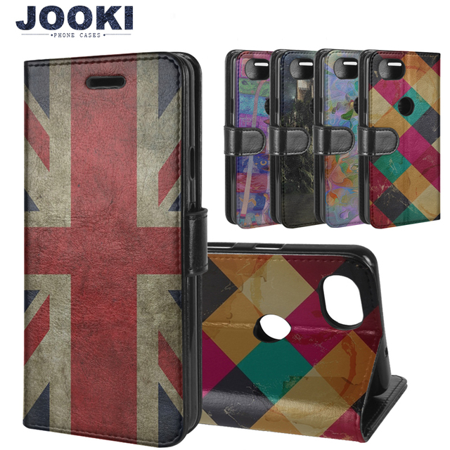 newest d7a78 9b557 Wallet Case with Card Holder PU Leather For Google Pixel 2 Case Book Flip  Cover For Fundas Google Pixel 2 XL 2XL Phone Cases-in Flip Cases from ...