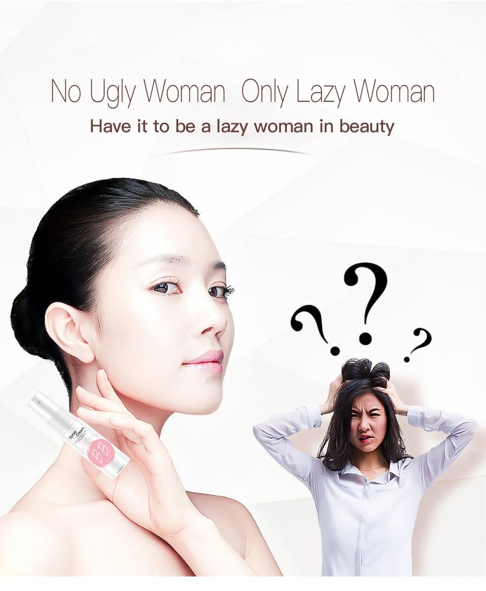 Профессиональный спрей BB Крем Осветляющий консилер, база под макияж длительное Отбеливание лица основа косметический инструмент