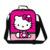 Portáteis pequenos sacos de piquenique hello kitty bonito miúdos dos desenhos animados saco térmico almoço meninas caixa de isolamento almoço térmica pacote de refeição