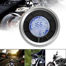 Универсальный мотоцикл 12000 об/мин 199 км/ч ЖК-цифровой 95 мм одометр спидометр тахометр датчик