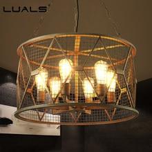 Фотография Loft Suspension Luminaire Retro Light Fixture Industrial Style Pendant Lighting Edison Lamp Iron Art Pendant Lights Indoor Lamps