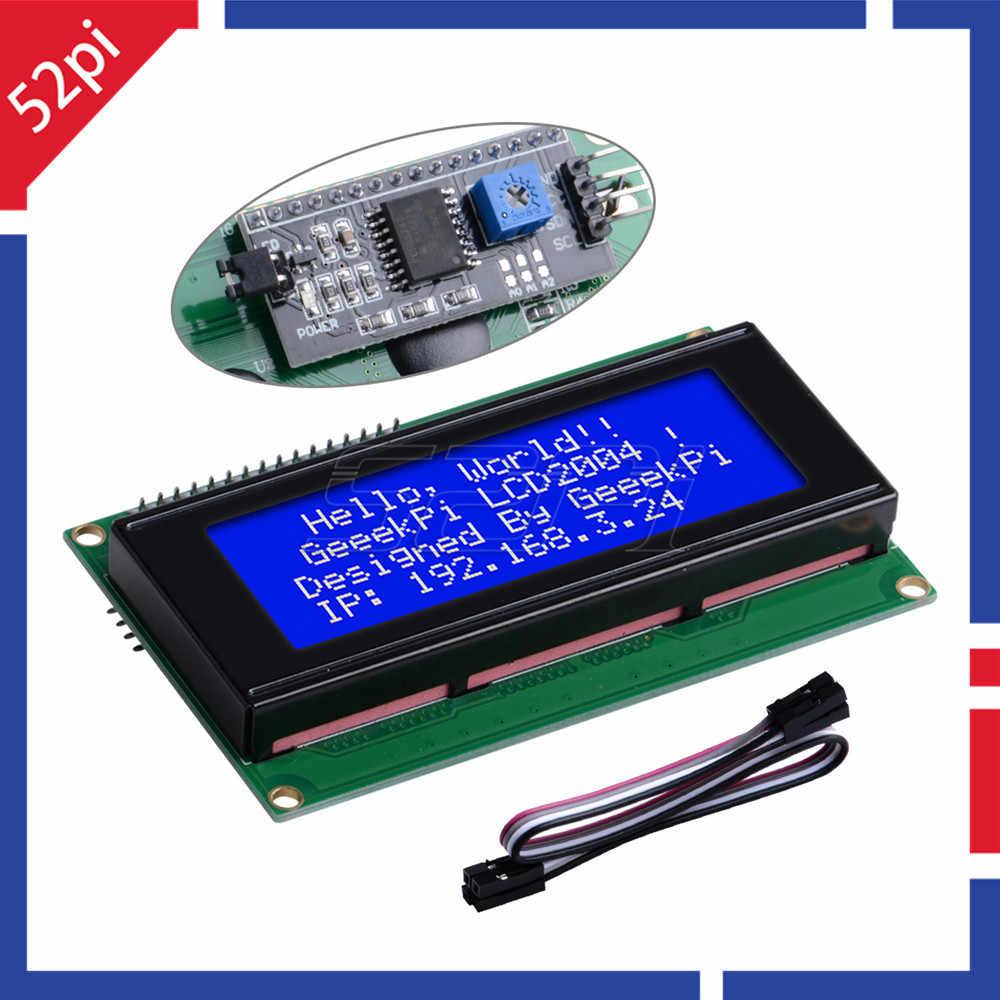 LCD Module Blue Screen IIC/I2C 2004 5V 20X4 LCD Board for