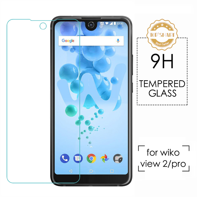 NEW For WIKO view 2 view 2 pro wiko view lite Tempered Glass Protector Screen  9H 2.5D High quality explosion-proof Glass Film