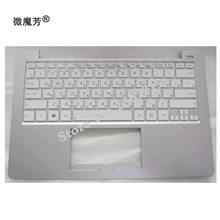 Russian New for ASUS X201 X201E S200 S200E x202e Q200 Q200E Replace laptop keyboard With C Case white(China)