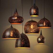 Led подвеска лампы бар ресторан украсить светильник лампы шнур висит спальня огни современные подвесные светильники