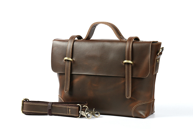 High Quality Genuine Leather bag Business Men bags Laptop Tote Briefcases Crossbody bags Shoulder Handbag Man Messenger Bag 061# genuine leather crossbody messenger shoulder bag men business cowhide tote high quality travel casual male bags lj 962