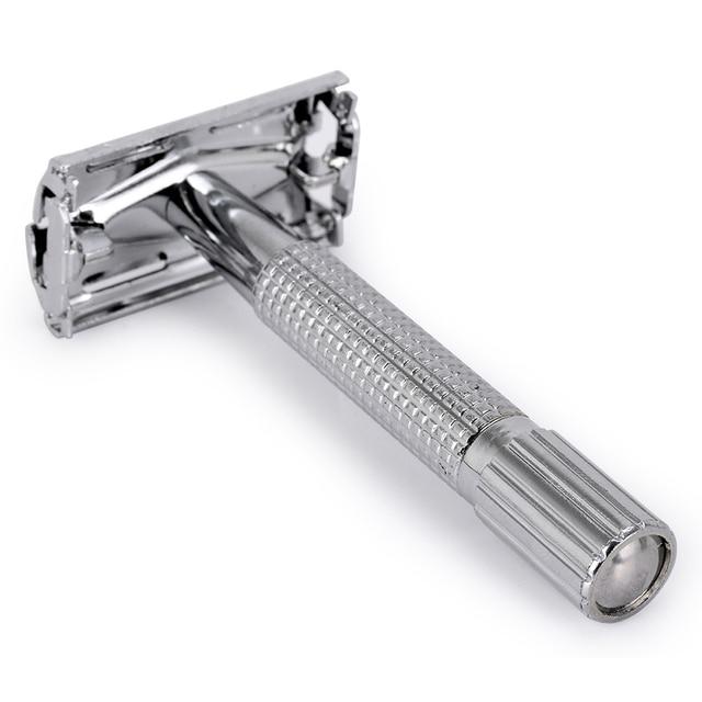 Safety Double Edge Razor For Men Straight Razor Men's Shaving Face Razor Blades Shaving Machine 2