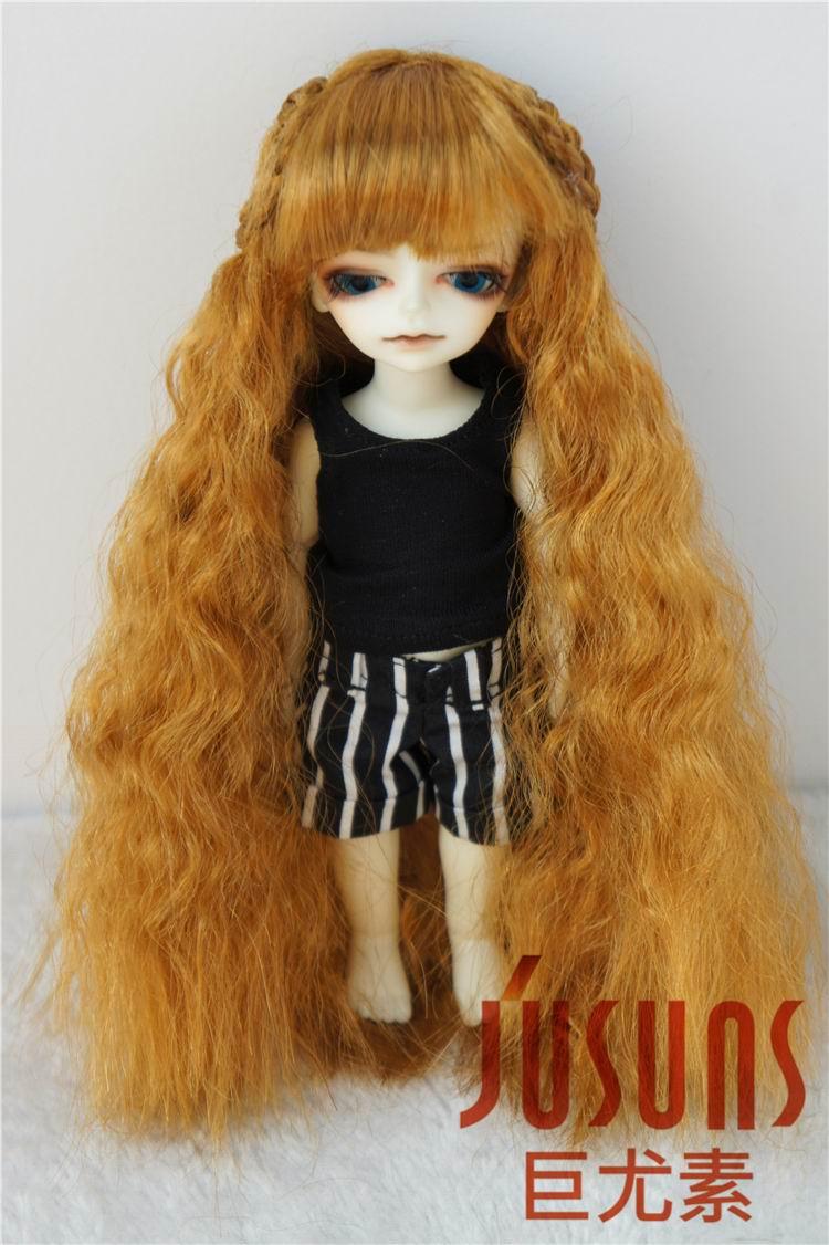 JD098 1/12 սինթետիկ տիկնիկային կեղծամներ Wigs Fairly Sobazu Wig 4-5inch տիկնիկների պարագաներ