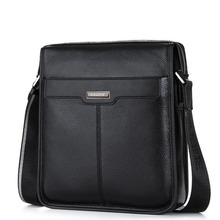 New Men Small Bag Genuine Leather Man Messenger Crossbody Bags For Man High Quality Cow Leather Mens Shoulder Bags For IPAD Mini