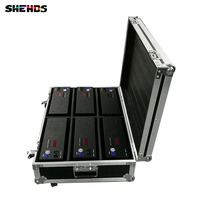 Flight Case with 2/4/6 pieces 2eyes 200W LED COB Blinder Warm White Lighting for Disco KTV Party Free Shipping,SHEHDS