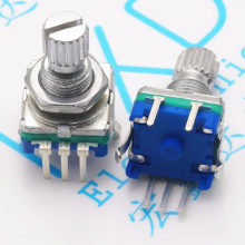 10pcs Plum handle | 15mm rotary encoder code switch / EC11 / digital potentiometer with switch цены