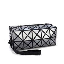 2019 Makeup Bag Fashion Portable Folding Package PU Leather
