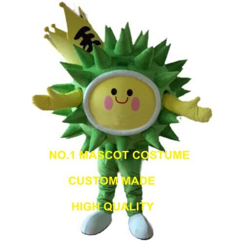 king durian mascot costume free ship cartoon durian fruit superman theme anime cosplay costumes carnival fancy dress kits 2541