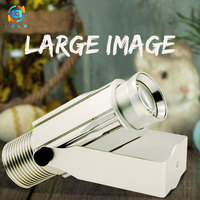 Hot Gobo Projector Portable Outdoor Waterproof Projection Light Shop Advertising Publicized Cinema Decormation HD Rotary Images