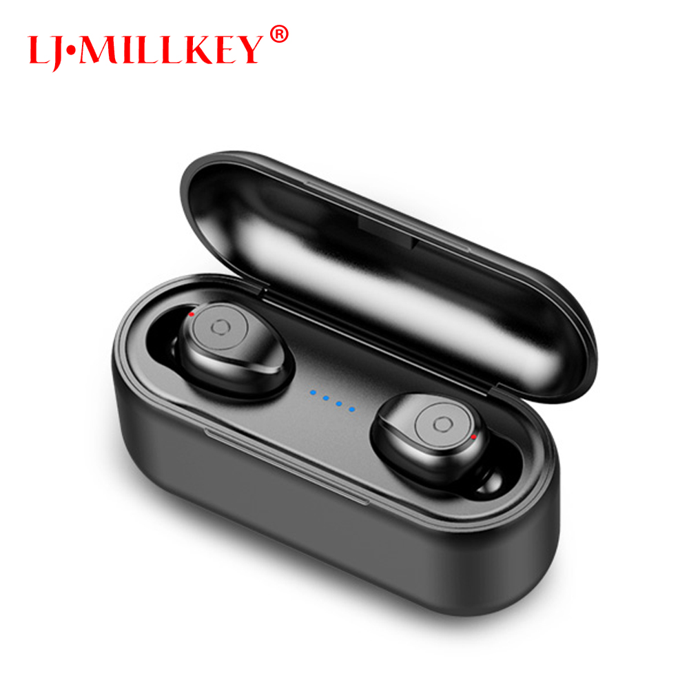 TWS 5.0 True Wireless Earbuds Micro Earpiece Mini Twins Headset Stereo Ear Bluetooth Earphone Headphones with 3000mAh Box YZ210