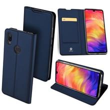 dux ducis skin pro origami smart leather stand case for ipad pro 12 9 2017 Original Dux Ducis Pu Leather Case For Xiaomi 9T Pro Coque Luxury Thin Flip Wallet Cover For Redmi 7 K20 pro Note 7 Pro Case
