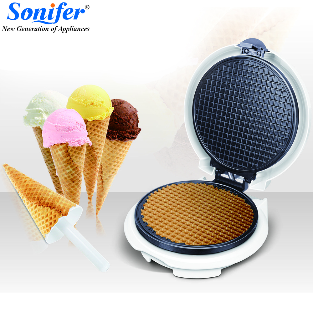 все цены на Electric Egg Roll Maker Crispy Omelet Mold crepe baking Pan Pancake Bakeware ice cream cone machine pie frying grill sonifer