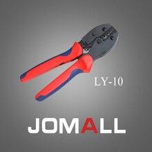 Купить с кэшбэком LY-10crimping tool crimping plier 2 multi tool tools hands LY Ratchet Crimping Plier (European Style)