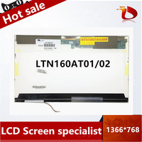Free shipping 16 inch lcd screen LTN160AT01 LTN160AT02 1366*768 LAPTOP LCD Display screen FOR ACER ASPIRE 6920G 6930G 6935G