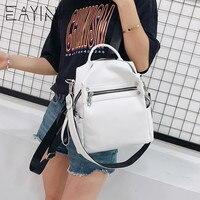 Популярный в инстаграме белый рюкзак