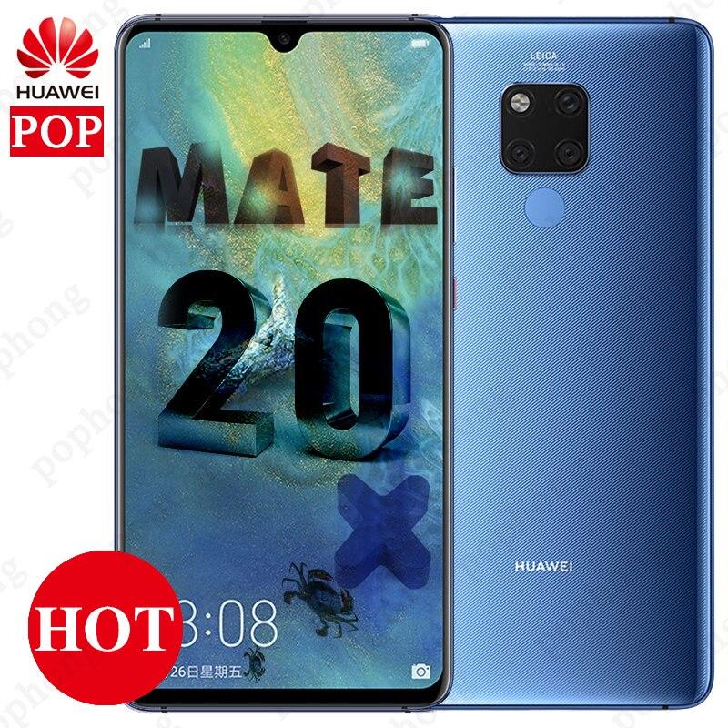 7 2 Inch Full Screen Huawei Mate 20 X Mate 20X Mobile Phone Andorid 9 0
