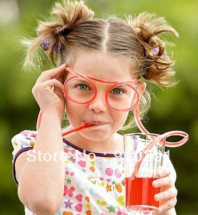 Free shipping to UK,DIY color eyeglasses as amazing straw glasses silly straw for drinking glasses trinkhalm as summer product.
