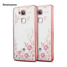 Secret Garden Plating TPU Case For Huawei P10 P9 Plus Lite P8 P7 Lite Honor  7X 8 9 V9 6A Mate S 7 8 9 Pro Nova Lite 2 Y5 2017 cc46a69746a0