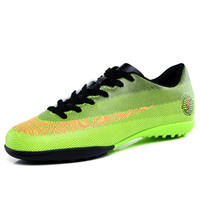 Indoor Men Soccer Sneakers Cheats Turf Male Football Shoes Rubber Soft Sole Male Sport Trainers Shoes Foot Ball